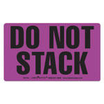 LabelMaster Shipping and Handling Self-Adhesive Label, 5 x 3, DO NOT STACK, 500/Roll