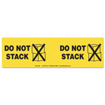 LabelMaster Shipping and Handling Self-Adhesive Label, 3 x 10 1/8, DO NOT STACK, 100/Pack