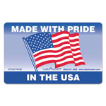LabelMaster Warehouse Self-Adhesive Label, 4 x 2 1/2, MADE WITH PRIDE IN THE USA, 500/Roll