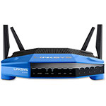 Linksys AC1900 Dualband Router, Black/Blue