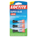 Loctite Super Glue 3-Pack, 3g, Clear
