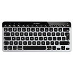 Logitech Easy Switch Bluetooth Keyboard, Mac iOS/OS X