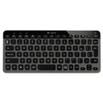 Logitech K810 Illuminated Keyboard, Bluetooth, Black