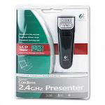 Logitech Cordless Presenter Black/Silver, 2.4GHz
