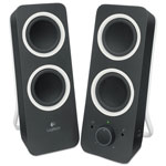 Logitech Z200 Multimedia Speakers, Black
