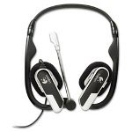 Logitech H555 Laptop Headset, Black
