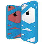 Loop Mummy Case for iPhone 5C, Cyan