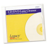 Director's Select CD/DVD Lens Cleaner, Wipes, White