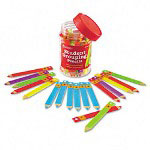 Learning Resources Student Grouping Pencil, 36 Assorted Colored Pencils