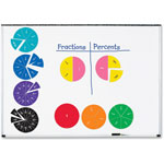 Learning Resources Double-Sided Magnetic Fraction Circles, 6/ST, Multi