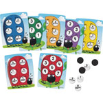 Learning Resources 10 On The spot Ten Frame Game, 78 Pieces, Assorted