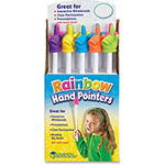 "Learning Resources Rainbow Handpointers, 15"", 10/CT, Multi"