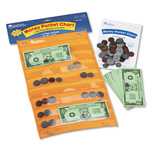 Learning Resources Money Pocket Chart and Play Money