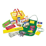 Learning Resources Pretend & Play Supermarket Set, 93-Piece Set