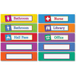 "Learning Resources Magnetic Hall Passes, 9-1/2"" x 2-1/4"", Set Of 10, Multi"