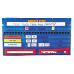 "Learning Resources Elapsed Time Pocket Chart, 50"" w x 28"" h"
