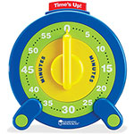 "Learning Resources 60-Minute Jumbo Timer, 8"" D"