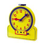Learning Resources Primary Time Teacher 12 Hour Learning Clocks