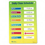 Learning Resources Magnetic Classroom Schedule Chart