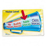 Learning Resources Magnetic Noise Level Chart