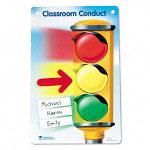 Learning Resources Magnetic Classroom Conduct Stoplight Chart