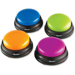 Learning Resources Answer Buzzers Game, 4/PK, Multi