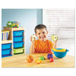 Learning Resources Smart Snacks Counting Fruit Bowl, Plas, Orange, Apple, Plum, Banana, Strawberry