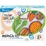 Learning Resources Much It, Play Food Set, 20/ST, Multi