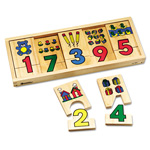 Learning Resources 1-2-3 Puzzle Blocks