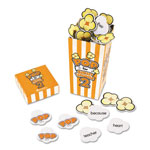"Learning Resources POP for Sight Words 2 Game, Orange/White, 100 Popcorn Cards, 3""L x 3""W x 6.25""H"