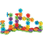 Learning Resources Gears Beginners Building Set, 95/ST, Multi
