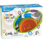 Learning Resources Cook It Chef Set, 12/ST, Multi