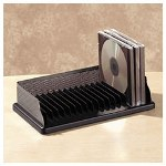 Rolodex Distinctions CD Organizer/Shelf Desk Tray
