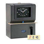 Lathem Time Manual Time Clock, Day of Week, Hours, Minute, CHAR