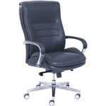 "La-Z-Boy Executive Chair, ComfortCore, 28-1/2""Wx25-1/4""Dx47-1/4""H, Black"