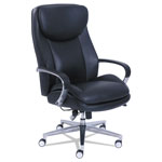 La-Z-Boy Commercial 2000 Big and Tall Executive Chair with Dynamic Lumbar Support, Black