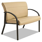 La-Z-Boy Gratzi Reception Series Bariatric Guest Chair, Taupe Vinyl