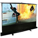 Elite Screens Ez-Cinema F80NWH - Projection Screen - 80 in