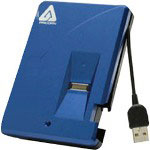 Apricorn Mass Storage Aegis Bio A25-BIO-160 - Hard Drive - 160 GB - Hi-Speed USB