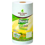 Marcal Premium Recycled Giant Roll Towels, 11x5-7/10, Roll Out Dispenser Case, 140/Roll