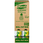 Marcal Roll Out 100% Recycled Bath Tissue, 2-Ply, 4.3 x 3.66, 504 Sheets/Roll