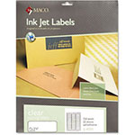 Maco Tag & Label Matte Clear Address Labels, 1 x 2 5/8, 750/Pack