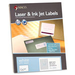"Maco Tag & Label UPC Labels, 1""x1 1/2"", 5000/BX, White"