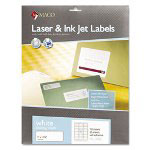 Chartpak/Pickett White All-Purpose Labels, 1/2 x 1 3/4, 2000/Box