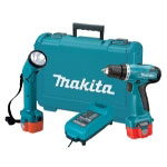 "Makita 9.6V Cordless 3/8"" Driver-Drill and Flashlight Kit"