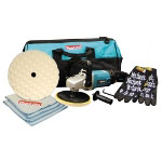 "Makita 7"" Polisher Value Pack Kit with Tool Bag"