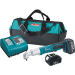 "Makita 18 Volt LXT Lithium-Ion Cordless 3/8"" Drive Angle Impact Wrench"