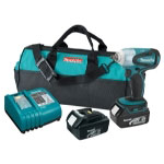 "Makita 18 Volt LXT Lithium Ion 3/8"" Drive Cordless Impact Wrench Kit"