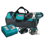 "Makita 18 Volt LXT Lithium Ion 1/2"" Drive Cordless Impact Wrench"