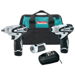 Makita 12V Max Lithium-Ion Cordless 3 Piece Combo Kit